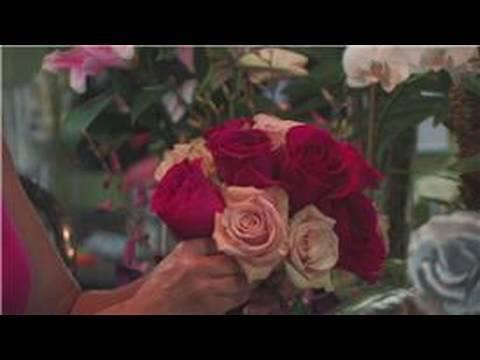 cascade bridal bouquet instructions