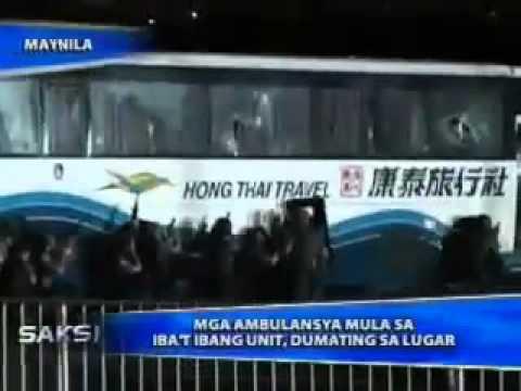 Manila Hostage Taking GMA 7  Full Coverage - August 23, 2010