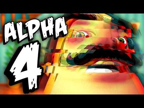 HOW TO GLITCH THE NEIGHBOR | Hello Neighbor Alpha 4 Gameplay