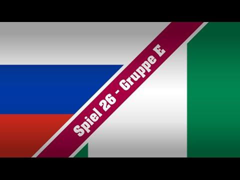 WeltPokal2015 : Spiel 26 : Gruppe E : Russland - Nigeria : 2. Halbzeit