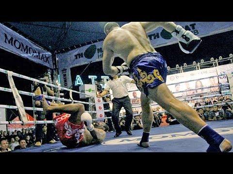 Сломал ЛОУ КИКОМ Боксёра профи! Бокс против Тайского бокса