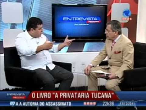 Paulo Henrique Amorim entrevista Amaury Ribeiro Jr. autor do livro 