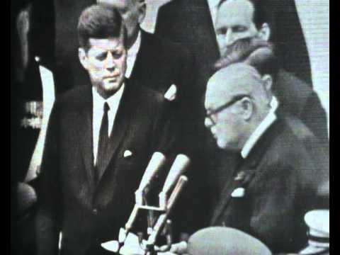 John F. Kennedy Makes Winston Churchill An Honorary American Citizen video