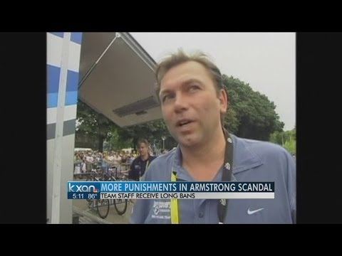 Armstrong coach Bruyneel banned for 10 years
