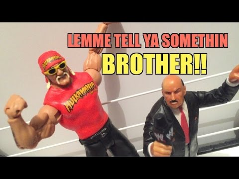 WWE ACTION INSIDER: Hulk Hogan Signature Series Mattel Wrestling Figure Review