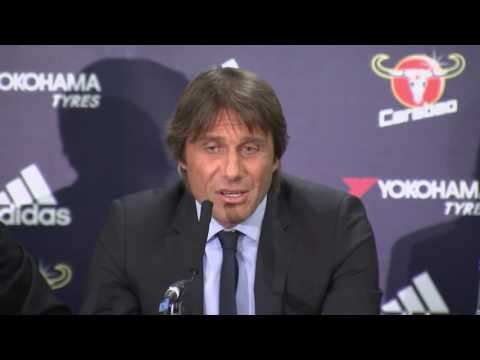 Antonio Conte's First Press Conference as Chelsea Manager