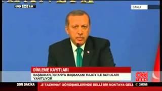 Erdoğan, 'Rüşvet'i Soran Muhabire Hakaretler Yağdırdı