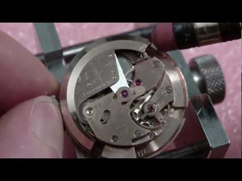 Tissot automatic wrist watch movement. bumper