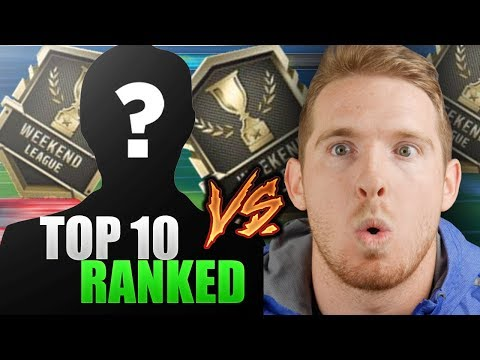 PLAYING A TOP 10 RANKED WEEKEND LEAGUE PLAYER | Madden 18 Top Ranked Weekend League Game
