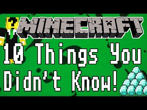 Minecraft: 10 Things You Didnt Know Probably Xbox 360 PS3