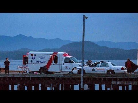 Naufrage en mer à l'ouest du Canada : cinq victimes britanniques