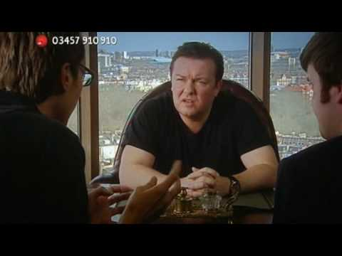 Ricky Gervais in The Office Opera Red Nose Day 2009