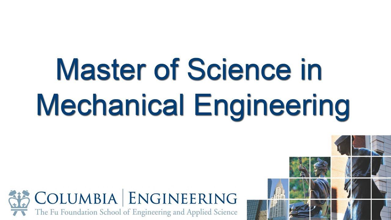 best thesis for mechanical engineering The phd in mechanical engineering-engineering mechanics is a graduate program ranked in the top 50 nationally by us the thesis describes a research.