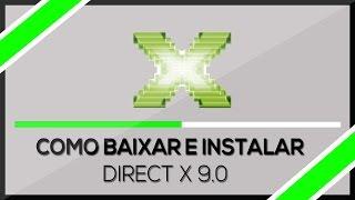 (6.26 MB) Como baixar e Instalar ➜ Directx 9.0 Windows 7/8/8.1/10 (HD) 2018 Mp3