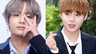 Wanna One?s Jihoon Commented On BTS V?s Face? And V Responded