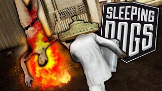 SLEEPING DOGS FUNNY MOMENTS | Rocket Man (Gameplay Montage)