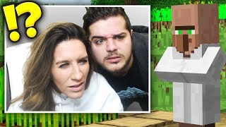 MINECRAFT WITH MY MOM (painful)