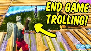 End Game Trolling! - Fortnite Battle Royale New Impulse Grenade Highlights
