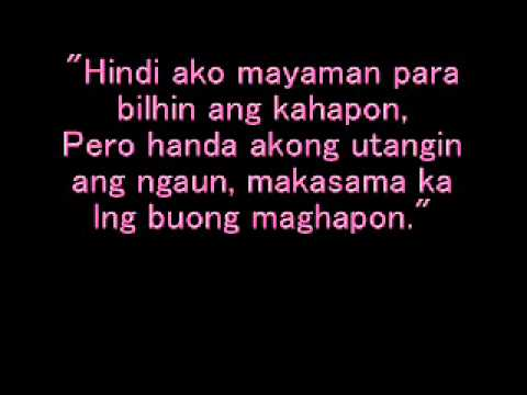 Tagalog Love Quotes video