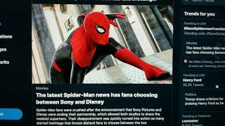 Sony Releases Statement on Spider-Man Agreement with Marvel Studios