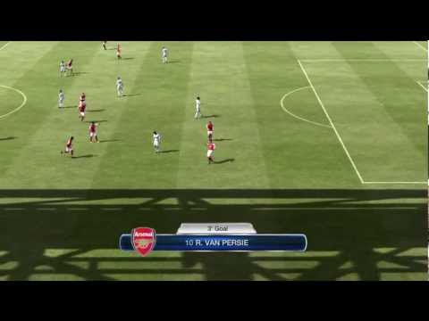 Swansea vs Arsenal 3-2 2-3 Full Highlights 15.1.12 By RLFifa