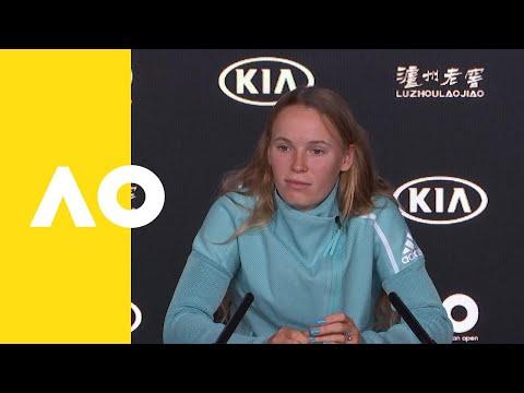Caroline Wozniacki press conference (3R) | Australian Open 2019
