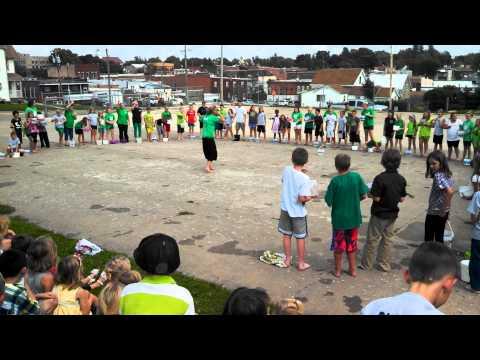 Waukon St. Patrick School Ice Bucket Challenge