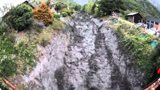 [LONG VERSION] debris flow - 22 août 2011 - Crue torrentielle à Saint Julien Montdenis
