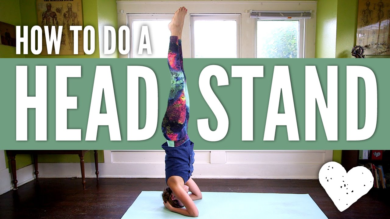 How to do a headstand for beginners step by step