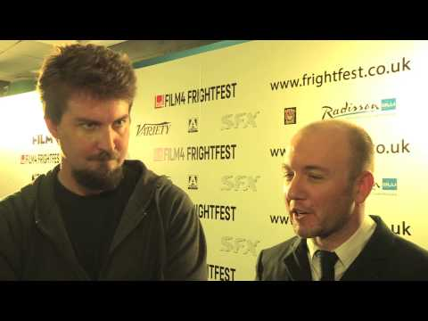 The Guest - Adam Wingard & Simon Barratt - Film 4 FrightFest UK Premiere Interviews