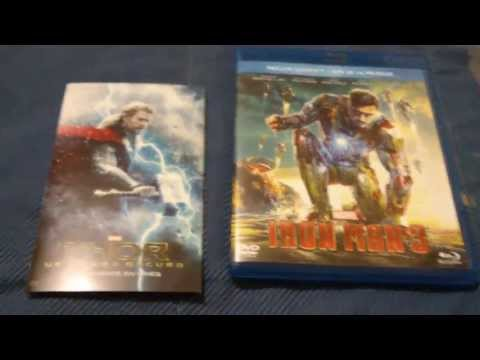 Unboxing Iron Man 3 Blu-ray + Dvd & Review (en español)