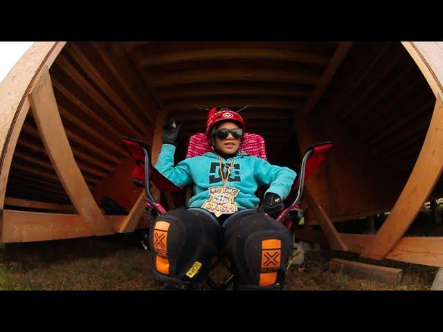 Lil Pros BMX Tour Spotlight: Meet 10 Year Old Dorian Giordano & His Backyard BMX Ramp