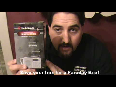 EVP Ghost box- Radio Shack Hack 20-125- DIY less than 5 mins