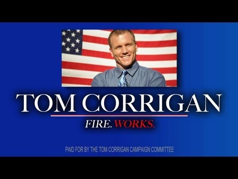 Tom Corrigan for Mayor: Fireworks.