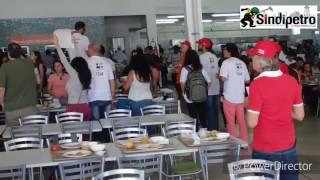 Sindipetro Bahia participa de intervenção no RU da Universidade Federal do Rio de Janeiro