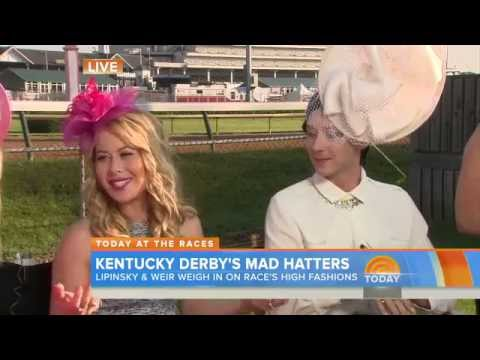 Johnny Weir and Tara Lipinski - Today Show, May 01,2015 Kentucky Derby