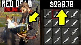 NEW MONEY MAKING METHOD in Red Dead Online! Easy Fast Money in RDR2 Online Fishing!