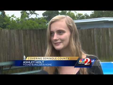 Family shaken after naked burglar wakes girl