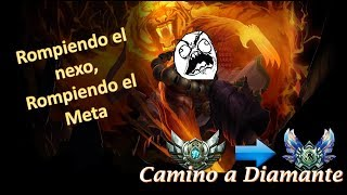 QUE CARAJOS ES ESTE JUNGLA!!! - Camino a Diamante en LAN Ep. 2 | League of Legends