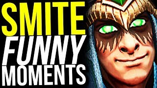 TANK LOKI IS OP! (actually broken) - SMITE FUNNY MOMENTS