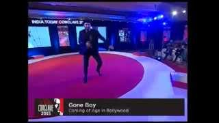 India Today conclave 2015 - Ranveer singh dances on Choli ke piche kya hai