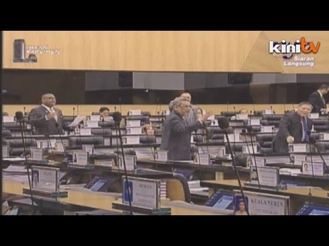 Kilang Al-quran Di Shah Alam, Ahli Parlimen Bertikam Lidah video