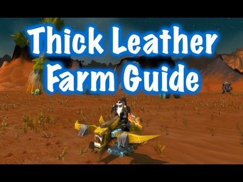 how to make heavy knothide leather