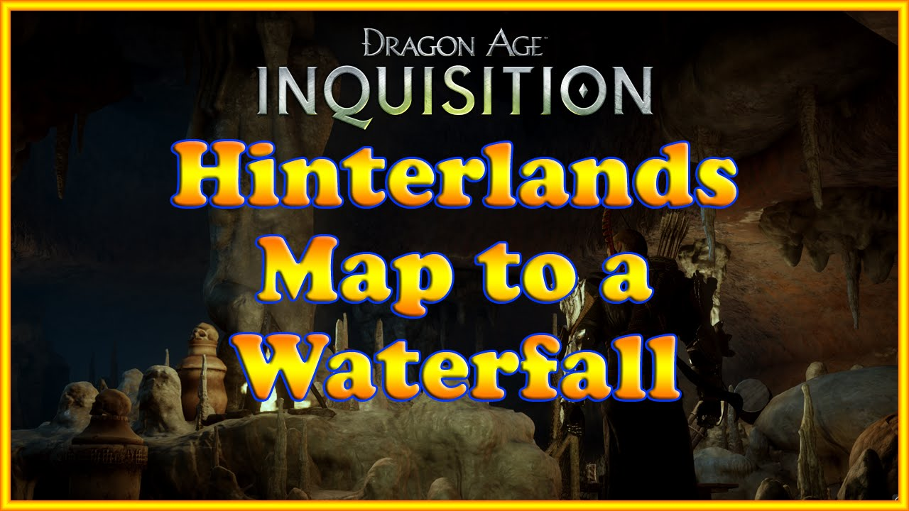 Dragon Age Inquisition Hinterlands Map Dragon Age Inquisition Map