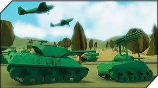 КРЕПКИЕ АМЕРИКАНЦЫ.Компания за СССР # 4-Игра Total Tank Simulator Demo 4. Экшен танки.