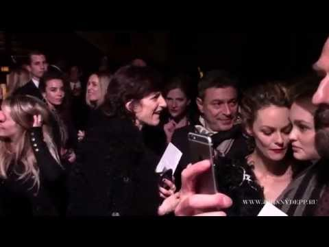 Vanessa Paradis, her daughter Lily-Rose Depp and other guests at Chanel Paris-Salzburg fashion show
