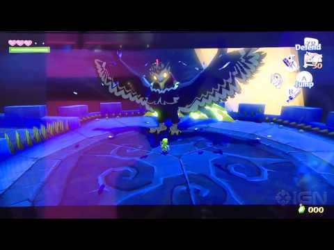 The Legend of Zelda: The Wind Waker HD - Offscreen Boss Battle - E3 2013
