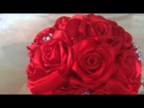 Nima's Handmade Wedding Bouquets / ხელნაკეთი საქორწილო თაიგულები ნიმასგან