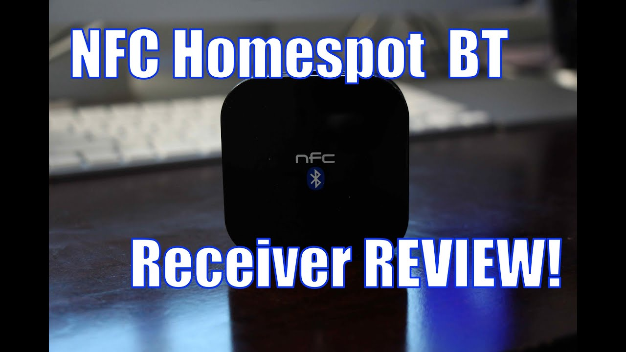 HomeSpot NFC Enabled Bluetooth Audio Receiver