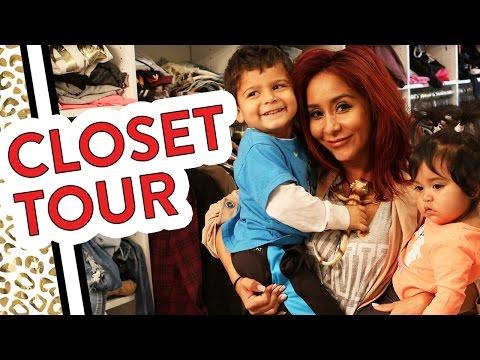 "Closet Tour with Nicole ""Snooki"" Polizzi"